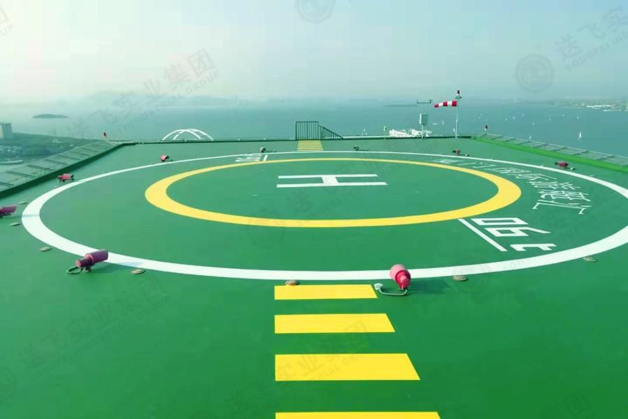 福建厦门·五缘湾 屋顶直升机停机坪